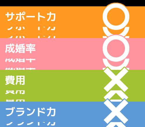 桝本美香結婚相談所グラフ