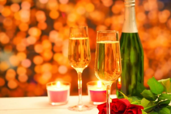 秋の夜長に♥ワインで気長に♥二人は最高に♥